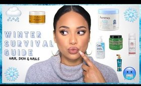 WINTER SURVIVAL GUIDE FOR HAIR SKIN & NAILS | Ashley Bond Beauty