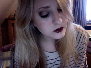 Classic dramatic dark lip