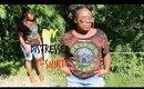 DIY Distressed & Bleached T-shirt! |Street Wear Fashion