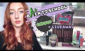 DRUGSTORE Back-To-School Makeup + HUGE $500+ GIVEAWAY!!