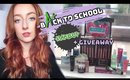 DRUGSTORE Back-To-School Makeup + HUGE $500+ GIVEAWAY!!