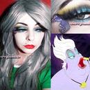 Halloween makeup look Disney Villain Ursula
