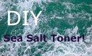 Easy Simple DIY: Sea Salt Toner