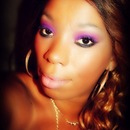 Pretty in purple and pink