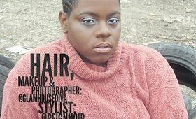 Foundation, Highlight, and Contour on darker skin+Photoshoot-@glamhousetv