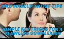 PRO MAKEUP TIPS- SIMPLE TRICKS FOR A NATURAL COMPLEXION WITHOUT USING A LOT OF MAKEUP- karma33