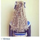 Cheer hair:)