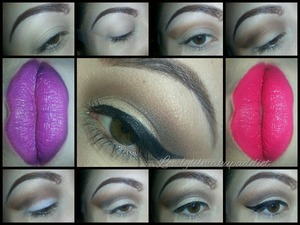 Can be worn with any lip color :))