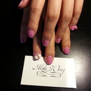 Pink Bows by Heera