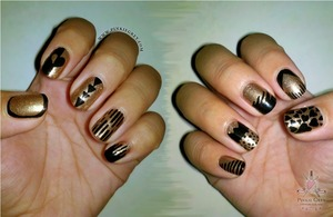 http://pinkiegrey.com/post/35907613425/black-and-gold-here-enjoy-these-nails-with-the