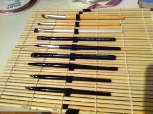 DIY Makeup Brush Roll 1