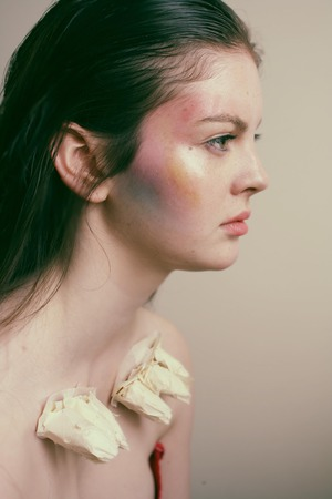 A shoot from my Art Foundation course inspired by coral and the ocean