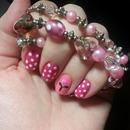 Bracelet inspired nails