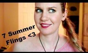 7 Summer Flings | Project Pan