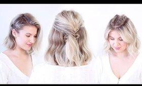 SUPER CUTE Hairstyles For SHORT HAIR