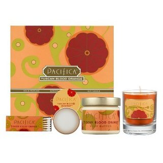 Pacifica Tuscan Blood Orange Travel Set