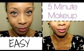 Easy, 5 Minute Makeup