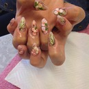 floral freehand