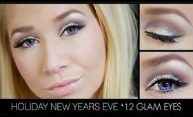 Glamorous Glitter Eye Look