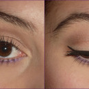 Neautral Eye With A Pop Of Purple!