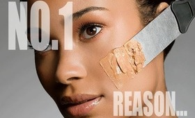 THE NUMBER ONE REASON YOUR FOUNDATION DOESN'T LAST!