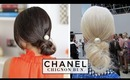 Chanel Chignon Bun Hair Tutorial