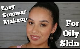 Easy Summer Makeup for Oily Skin | ChristineMUA