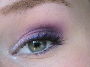 In this look, I used multiple shades of purple and even some blue mascara! It reminds me of summer with such colorful eyeshadows and, I think, really brings out my green eyes. My mom personally thinks my eyes look like little butterfly wings haha! This was super fun for me to create so if you would like to see a tutorial on this look on my YouTube, MissMonicaSue22, then please leave a comment! <3