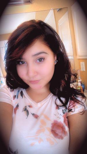 natural brown hair again
