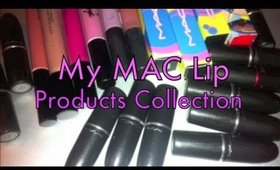 My MAC Lip Products Collection + Swatches