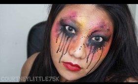 Transitions Face Paint | #CourtneyLittle75K