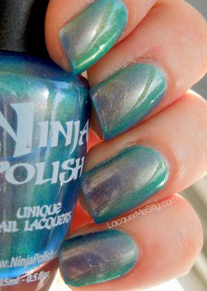 Ninja Polish - Mystic Glacier. Full Blog Post: http://www.lacquermesilly.com/2013/05/06/ninja-polish-mystic-glacier/