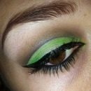 Make-up Challenge Day 3 Green
