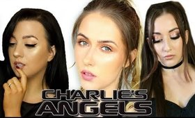CHARLIE'S ANGELS! MILEY CYRUS INSPIRED LOOK! | shivonmakeupbiz