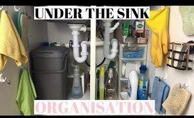 UNDER THE SINK ORGANISATION UK & MY CLEANING ESSENTIALS