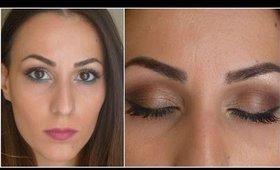 Sexy chocolate eyes makeup tutorial!