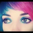 Blue vs pink