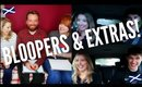 BLOOPERS AND EXTRAS - SCOTTISH YOUTUBER COLLABS!
