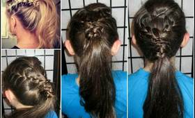 How To: Edgy Ponytail