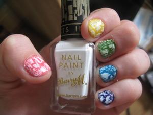 Nails of the Day! Loooooove!