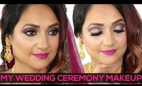 Indian Wedding GRWM | My Wedding Ceremony Makeup Tutorial