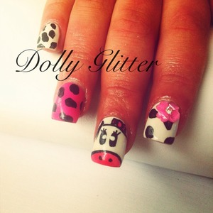 Cow nails mooooo!