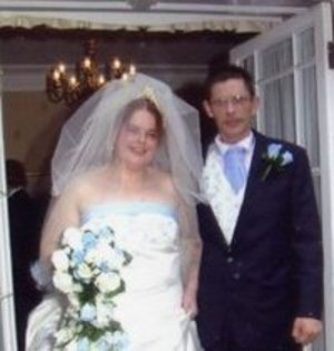 me on my happiest day of the life my wedding