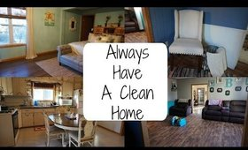 HOW TO KEEP A HOME CLEAN   KIDS INCLUDED