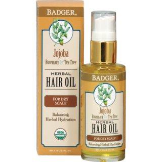 Badger Jojoba Hair Oil