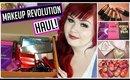 Makeup Revolution Makeup Haul + Swatches | June 2015