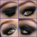 Midnight Smokey Eye