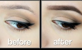 HOW TO: PERFECT EYEBROWS - AUGENBRAUENROUTINE - Eyebrow Routine ❤