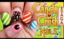 Candy Crush inspired nails | Tutorial