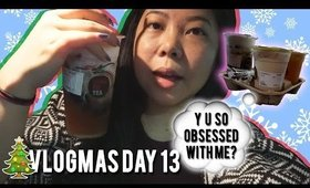 🎄 VLOGMAS DAY 13: DRINKING 3 KUNG FU TEAS? CHRISTMAS LIGHT POKEMON GO ADVENTURES | MakeupANNimal